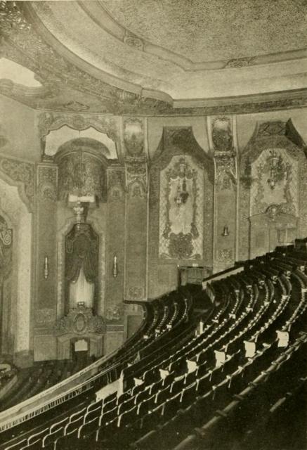 Portland Theatre, Portland, OR in 1928 - Auditoreum