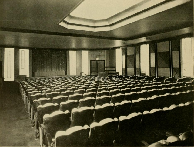 Little Carnegie Theatre, New York, NY in 1928 - Auditorium