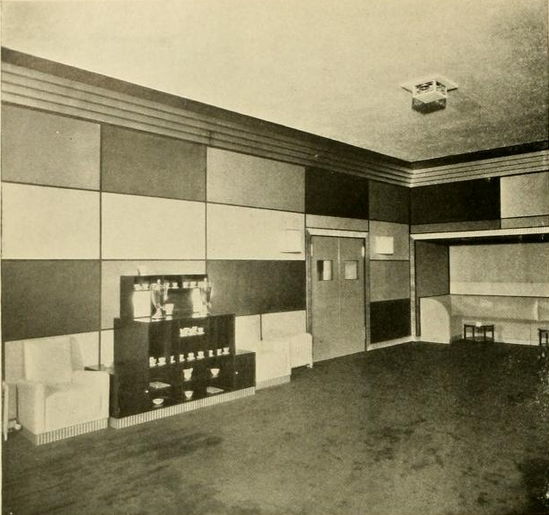 Little Carnegie Theatre, New York, NY in 1928 - Lounge