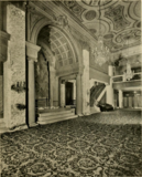Erlanger Theatre, Philadelphia, PA in 1928 - Entrance lobby