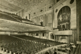 Erlanger Theatre, Phildelphia, PA in 1928 - Auditorium sidewall detail