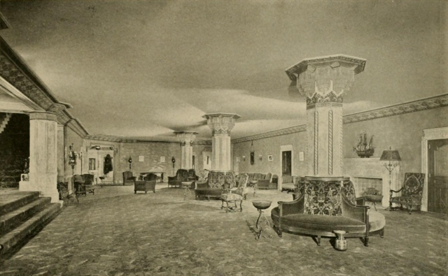 Erlanger Theatre, Phildelphia, PA in 1928 - Spanish Lounge