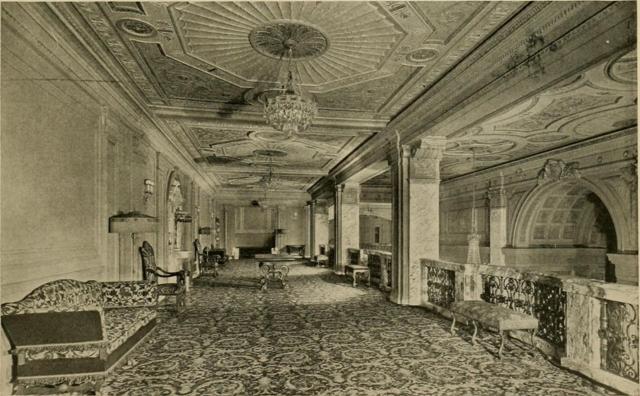 Erlanger Theatre, Phildelphia, PA in 1928 - Mezzanine Promenade