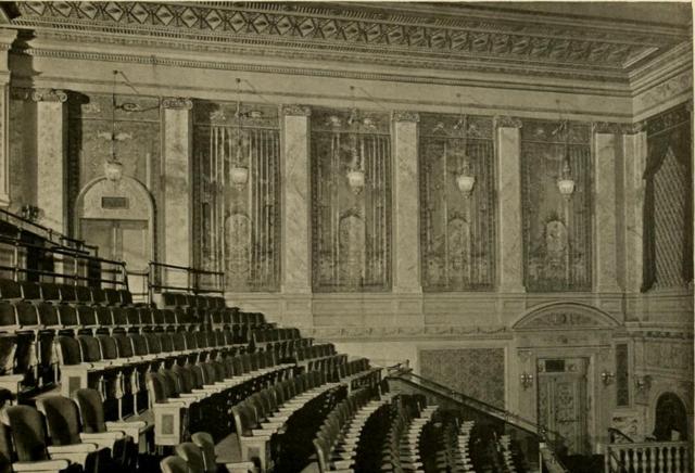 Earle Theatre, Phiadelphia, PA in 1928 - Auditorium sidewall
