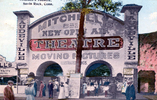 MITCHELL'S Theatre; Savin Rock; West Haven, Connecticut.