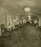 Stanley Theatre, Pittsburgh, PA in 1928 - Mens smoking room