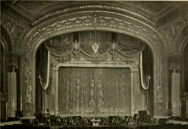 Stanley Theatre, Baltimore, MD in 1928 - Proscenium