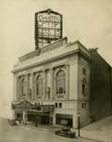 Stanley Theatre, Baltimore, MD in 1928 - Facade & main entrance