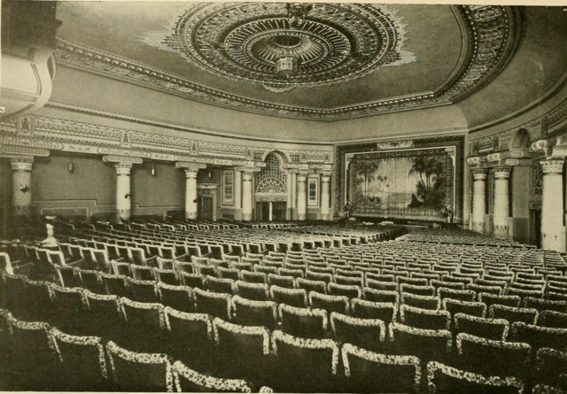 Egyptian Theatre, Bala Cynwyd, PA in 1928 - Auditorium