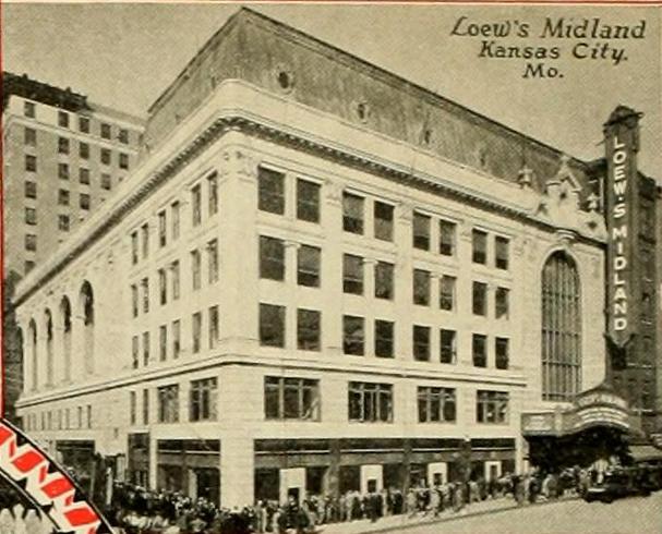 Midland Theatre, Kansas City, MO in 1928
