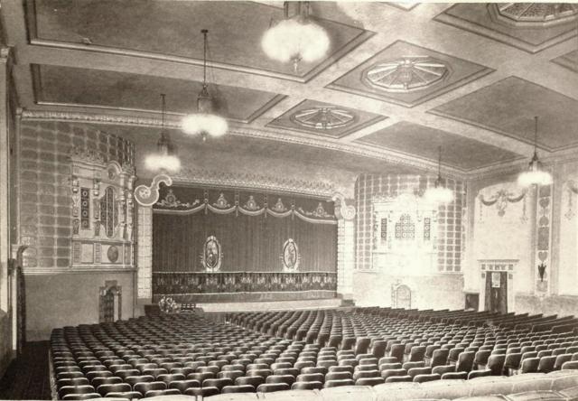 North Park Theatre, San Diego, CA in 1929 - Auditorium