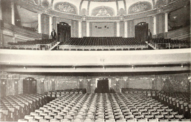 Grand Theatre, Shanghai, China in 1929
