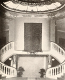 Grand Theatre, Shanghai, China in 1929 - Grand staircase