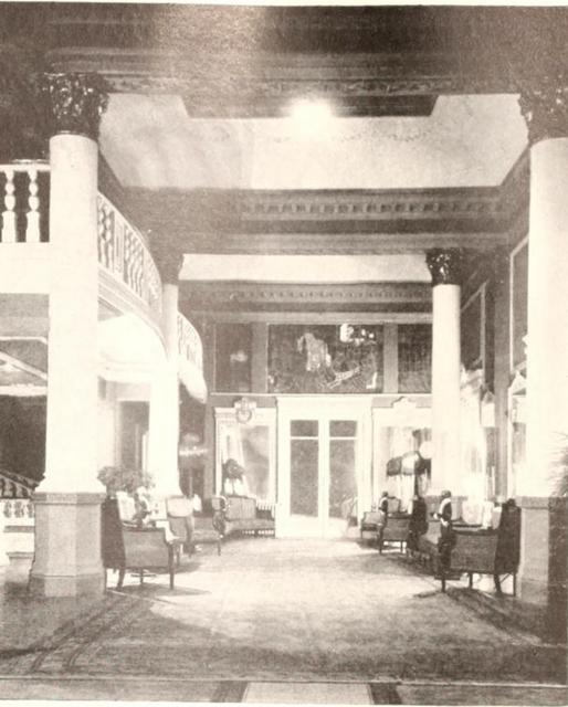 Grand Theatre, Shanghai, China in 1929 - Inner Foyer