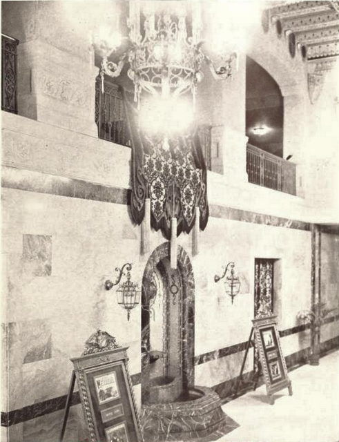 American Theater, Roanoke, VA in 1929 - Lobby