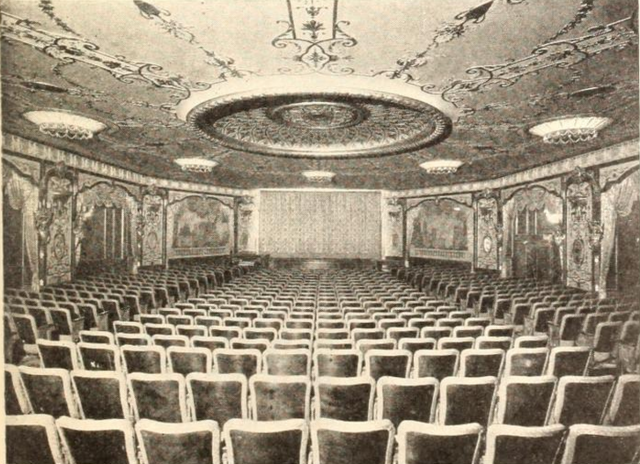 Embassy Theatre, New York, NY in 1929 - Auditorium