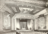 Uptown Theatre, Philadelphia, PA  in 1929 - Proscenium