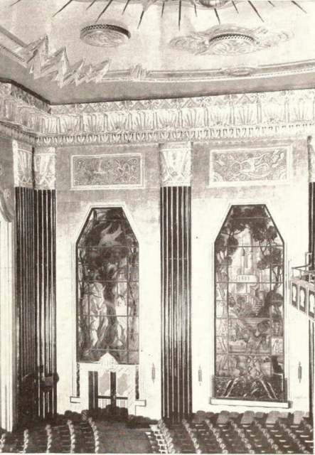 Uptown Theatre, Philadelphia, PA  in 1929 - Sidewall