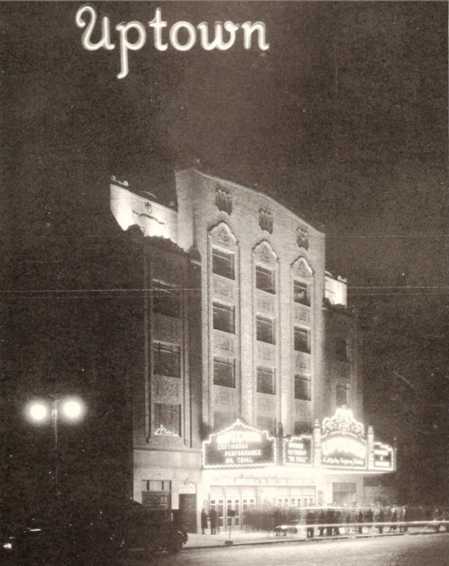 Uptown Theatre, Philadelphia, PA  in 1929