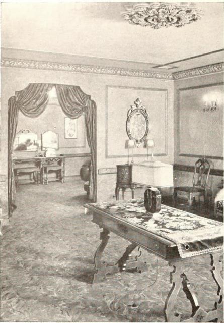 Loew's Akron Theatre, Akron, OH in 1929 - Ladies retiring room