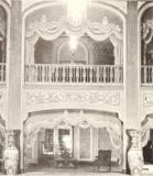 Loew's State Theatre, Providence, RI in 1929 - View of Lobby and Promenade