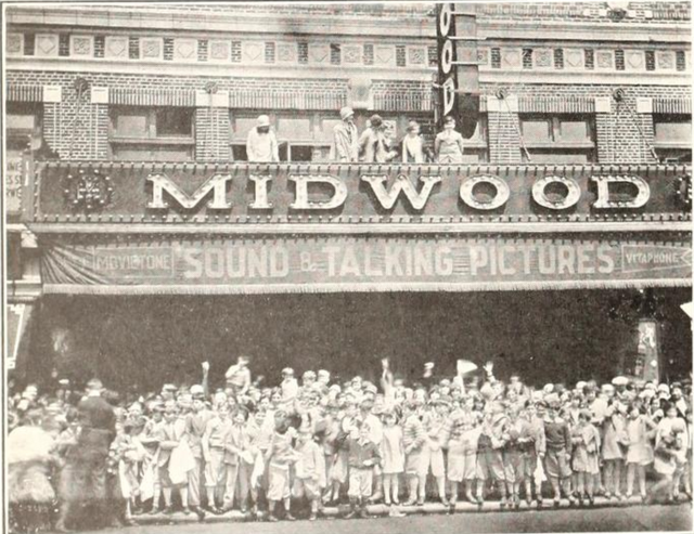 Midwood Theatre, Brooklyn, NY in 1929