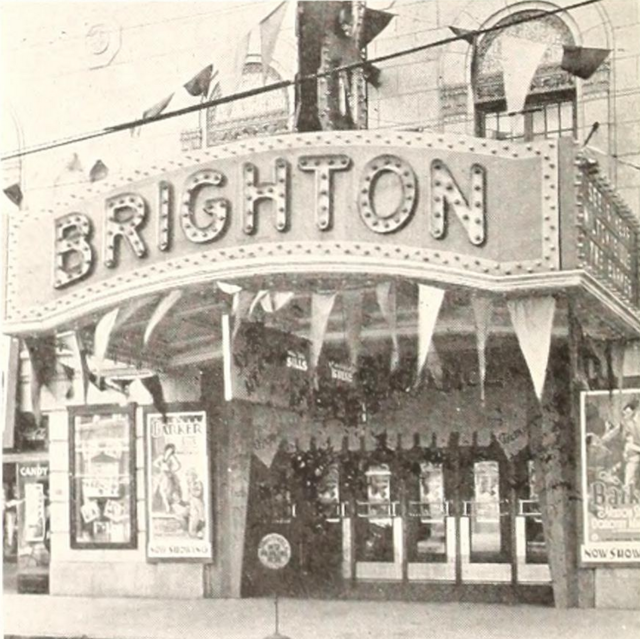 Brighton Theatre, Syracuse, NY in 1929
