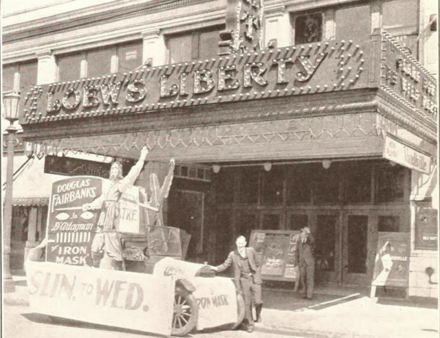 Liberty Theatre, Cleveland, OH in 1929