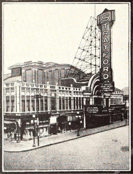 Stratford Theatre, Chicago, IL in 1929