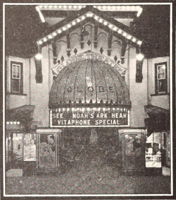Globe Theatre, Atlantic City, NJ in 1929