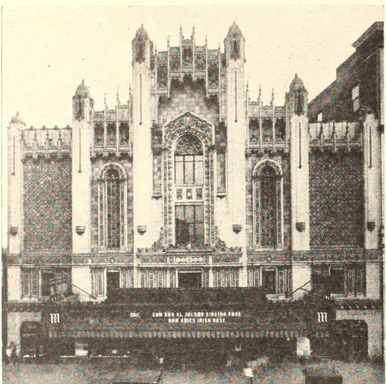 Majestic Theatre, East St.Louis, IL in 1929