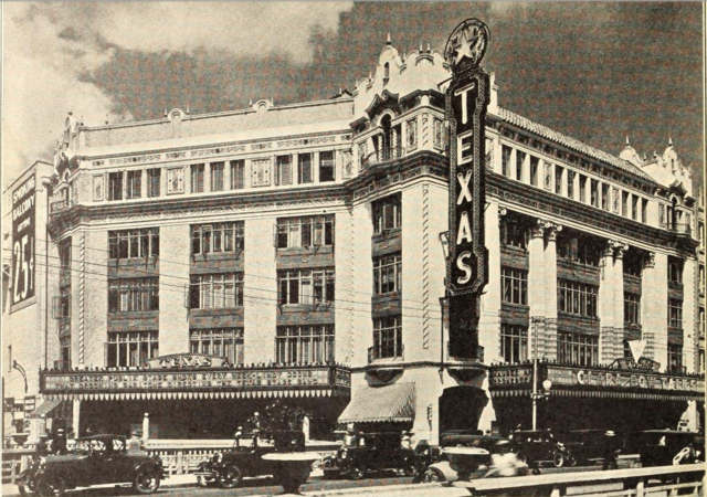 Texas Theatre, San Antonio, TX in 1929