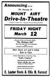 Mount Airy Drive-In