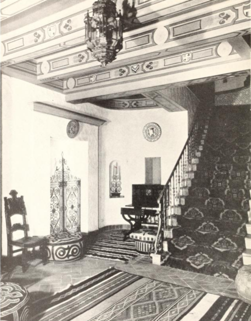 Plaza Theatre, Kansas City, MO in 1929 - Main Lounge