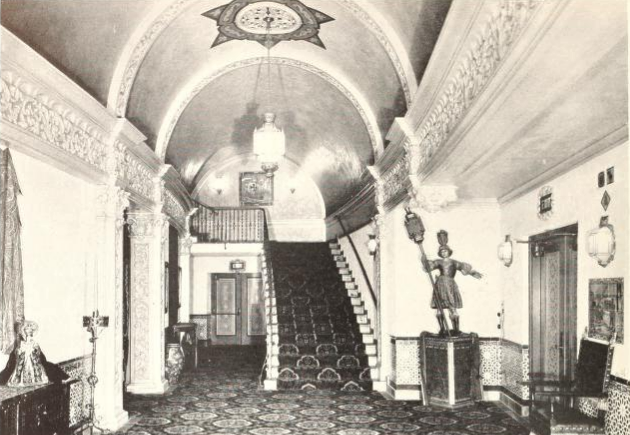 Plaza Theater, Kansas City, MO in 1929 - Foyer