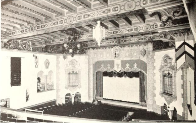 Plaza Theater, Kansas City, MO in 1929 - Proscenium
