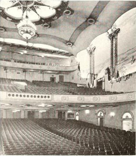 Texas Theatre, San Antonio, TX in 1929 - Auditorium