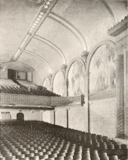 West Coast Theatre, Santa Ana, CA in 1929 - Auditorium and Organ Screen