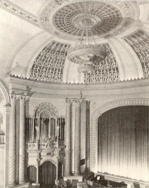 West Coast Theatre, Santa Ana, CA in 1929 - Auditorium