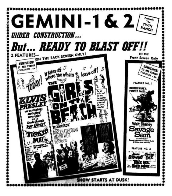 Gemini Drive-In