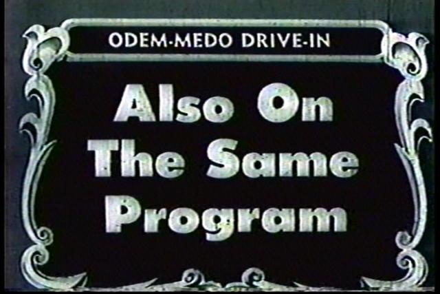 Odem-Medo Drive-In