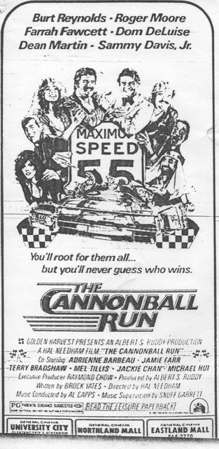 """The Cannonball Run"""