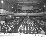 The Wilson Theatre interior from the stage 1940s.