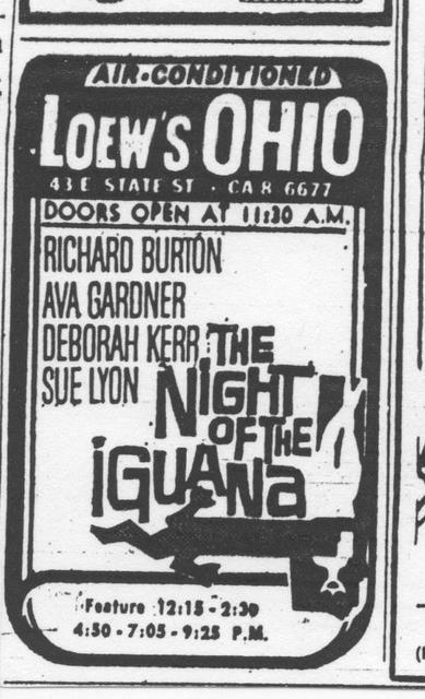 """The Night of the Iguana"""