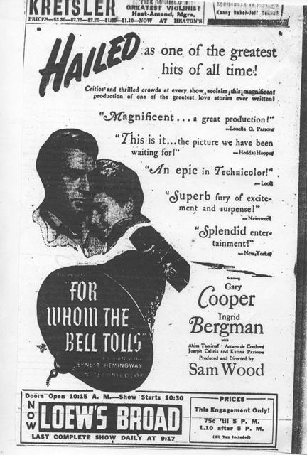 """""""For Whom the Bell Tolls"""""""