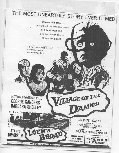 """Village of the Damned"""