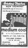 """""""Medium Cool"""""""