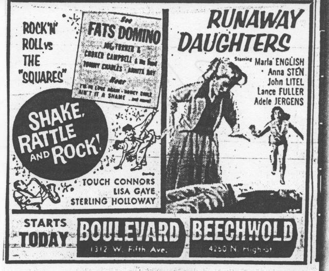 """Shake,Rattle And Rock!""/""Runaway Daughters"""