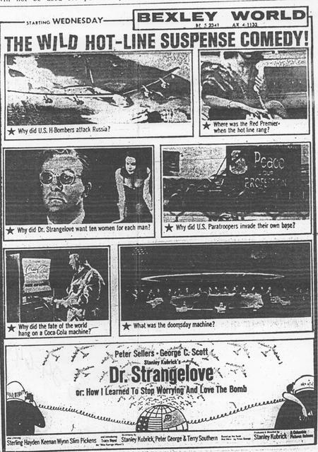"""Dr. Strangelove ..."""