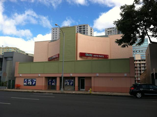 Former Hawaii Cinerama February 2013